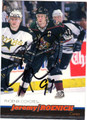 JEREMY ROENICK PHOENIX COYOTES AUTOGRAPHED HOCKEY CARD #110712G