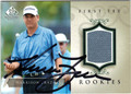 HARRISON FRAZAR AUTOGRAPHED PIECE OF THE GAME GOLF CARD #111012D