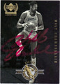 WILT CHAMBERLAIN LOS ANGELES LAKERS AUTOGRAPHED BASKETBALL CARD #11112C
