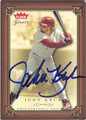 JOHN KRUK PHILADELPHIA PHILLIES AUTOGRAPHED BASEBALL CARD #11113G