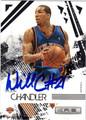 WILSON CHANDLER NEW YORK KNICKS AUTOGRAPHED BASKETBALL CARD #11113O