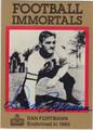 DAN FORTMANN CHICAGO BEARS AUTOGRAPHED FOOTBALL CARD #111512L