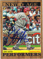 JOEY VOTTO AUTOGRAPHED BASEBALL CARD 111412A