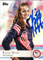 KATIE HOFF OLYMPIC SWIMMING AUTOGRAPHED CARD #111613i