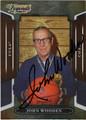 JOHN WOODEN AUTOGRAPHED BASKETBALL CARD #111712H
