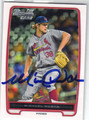MICHAEL WACHA ST LOUIS CARDINALS AUTOGRAPHED ROOKIE BASEBALL CARD #111713A
