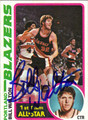 BILL WALTON AUTOGRAPHED VINTAGE BASKETBALL CARD #111812G