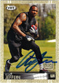 ALSHON JEFFERY AUTOGRAPHED ROOKIE FOOTBALL CARD #111912A