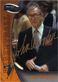 JOHN WOODEN AUTOGRAPHED BASKETBALL CARD #112012D