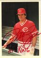 PETE ROSE CINCINNATI REDS AUTOGRAPHED BASEBALL CARD #111912J