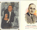JOHN F KENNEDY & HARRY S TRUMAN SET OF 2 CARDS #111912L
