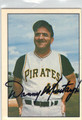 DANNY MURTAUGH PITTSBURGH PIRATES AUTOGRAPHED VINTAGE BASEBALL CARD #112113F