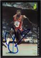 AL JOYNER OLYMPIC TRACK & FIELD AUTOGRAPHED CARD #112413D