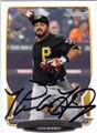 PEDRO ALVAREZ PITTSBURGH PIRATES AUTOGRAPHED BASEBALL CARD #112413H