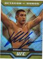 KENDALL GROVE AUTOGRAPHED UFC CARD #112413L