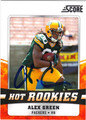 ALEX GREEN AUTOGRAPHED ROOKIE FOOTBALL CARD #112511K
