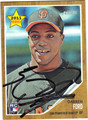 DARREN FORD AUTOGRAPHED ROOKIE BASEBALL CARD #112512G