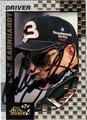 DALE EARNHARDT SR AUTOGRAPHED NASCAR CARD #112711B