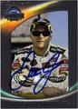 DALE EARNHARDT JR AUTOGRAPHED NASCAR CARD #112711G