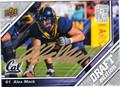 ALEX MACK AUTOGRAPHED ROOKIE FOOTBALL CARD #112811E