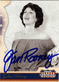 JAN ROONEY AUTOGRAPHED CARD #112811H
