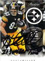 HEATH MILLER AUTOGRAPHED FOOTBALL CARD #112912H