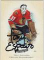 TONY ESPOSITO AUTOGRAPHED HOCKEY CARD #113010E