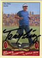 TONY PEREZ AUTOGRAPHED BASEBALL CARD #11312E