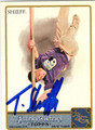 TIMOTHY SHIEFF AUTOGRAPHED CARD #11412H
