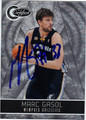 MARC GASOL MEMPHIS GRIZZLIES AUTOGRAPHED & NUMBERED BASKETBALL CARD #11512O