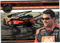 TONY STEWART AUTOGRAPHED PIECE OF THE GAME NASCAR CARD #11612M