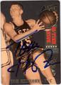 TOM HEINSOHN AUTOGRAPHED BASKETBALL CARD #11612R