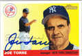 JOE TORRE AUTOGRAPHED BASEBALL CARD #11812B