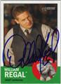 WILLIAM REGAL AUTOGRAPHED WRESTLING CARD #120111M