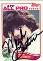 MARK GASTINEAU AUTOGRAPHED VINTAGE FOOTBALL CARD #120111P
