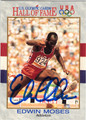 EDWIN MOSES AUTOGRAPHED OLYMPICS CARD #120113L