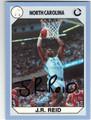JR REID NORTH CAROLINA TAR HEELS AUTOGRAPHED BASKETBALL CARD #12013J
