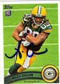 ALEX GREEN AUTOGRAPHED ROOKIE FOOTBALL CARD #120211M