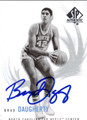 BRAD DAUGHERTY AUTOGRAPHED BASKETBALL CARD #120212G