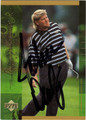 JOHN DALY AUTOGRAPHED GOLF CARD #120410A