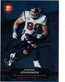 ANDRE JOHNSON AUTOGRAPHED FOOTBALL CARD #120412B
