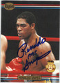 RENALDO SNIPES AUTOGRAPHED BOXING CARD #120413D