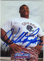 WILLIAM PERRY CHICAGO BEARS AUTOGRAPHED FOOTBALL CARD #120413F