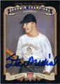 STAN MUSIAL AUTOGRAPHED BASEBALL CARD #120512D