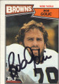 Bob Golic Autographed Football Card 1206