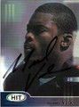 MICHAEL VICK AUTOGRAPHED ROOKIE FOOTBALL CARD #120610A