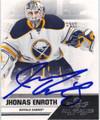 JHONAS ENROTH AUTOGRAPHED HOCKEY CARD #120612N