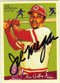 JOE MORGAN AUTOGRAPHED BASEBALL CARD #121011F
