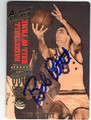 BOB PETTIT MILWAUKEE/ ST LOUIS HAWKS AUTOGRAPHED BASKETBALL CARD #12113M