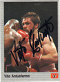 VITO ANTUOFERMO AUTOGRAPHED BOXING CARD #121213G